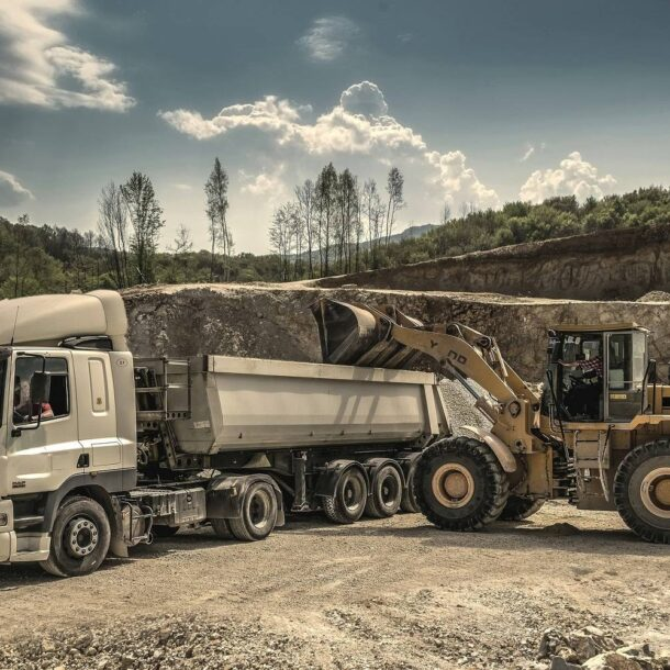 How are hard coal deposits formed?